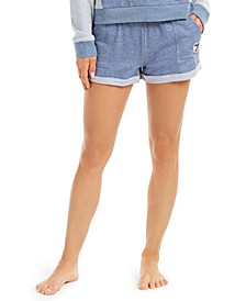 Cuffed Hem French Terry Lounge Shorts