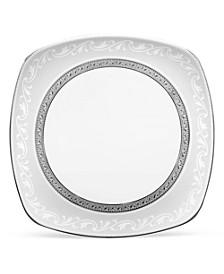 Crestwood Platinum Square Lunch Plate