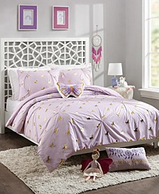 Fiona Unicorn Twin 3-Piece Comforter Set