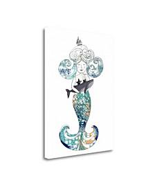 Mermaid by Sarah Ogren Giclee Print on Gallery Wrap Canvas