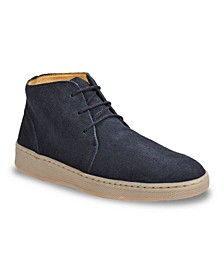 Men's Plain Toe Lace Chukka Boot