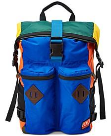 Men's Lightweight Mountain Roll-Top Backpack