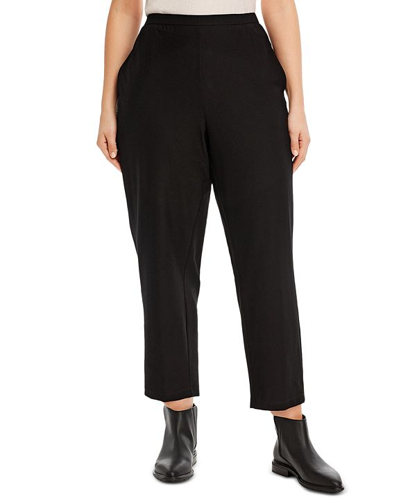 Eileen Fisher Plus Size Pull-On Pants
