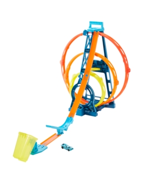 Hot Wheels Track Builder Unlimited Triple Loop Kit