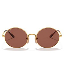 OVAL Polarized Sunglasses, RB1970 54