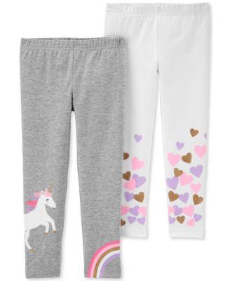 Carter/'s Toddler Girls Cheetah-Print Leggings Sizes 2T /& 4T