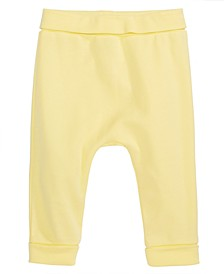 Baby Boys Cotton Yoga Pants, Created for Macy's