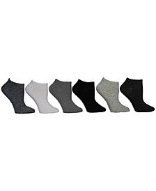 Women's Marled Low Cut Socks, Pack of 6