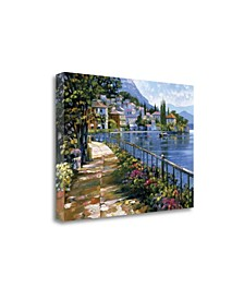 Sunlit Stroll by Howard Behrens Giclee Print on Gallery Wrap Canvas