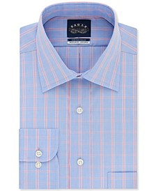 Men's Classic-Fit Flex Collar Check Dress Shirt