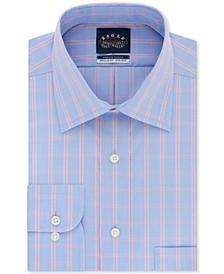 Men's Classic-Fit Flex Collar Check Dress Shirt