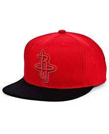 Houston Rockets 2 Team Reflective Snapback Cap