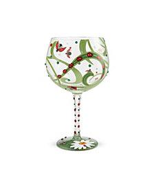 Enesco LOLITA Ladybug Coupe Glass