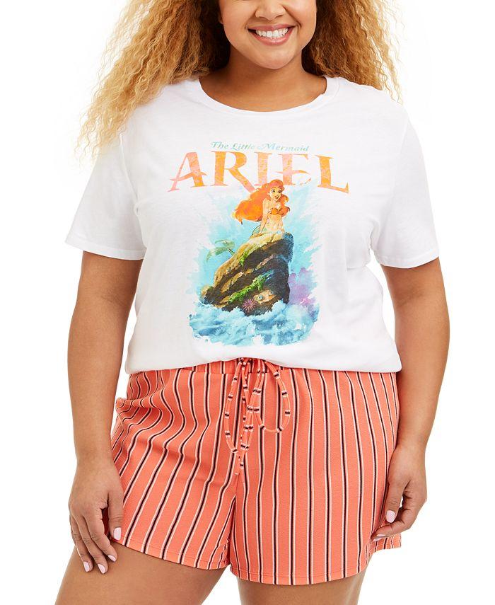 Love Tribe - Trendy Plus Size Cotton Ariel T-Shirt