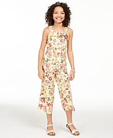 Big Girls Mommy & Me Floral-Print Jumpsuit, Created For Macy's