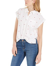 Watermelon-Print Camp Shirt, Created for Macy's