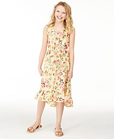 Big Girls Mommy & Me Floral-Print Dress, Created for Macy's