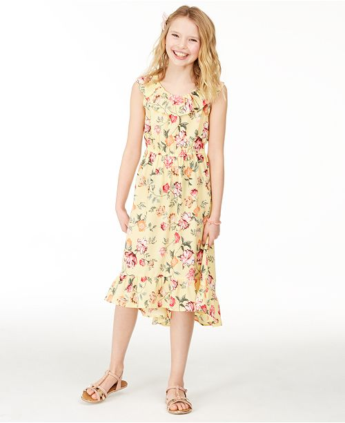 Charter Club Big Girls Mommy & Me Floral-Print Dress, Created for Macy's