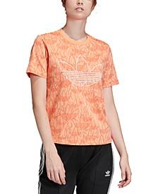 adidas Women's Originals All Over Print T-shirt