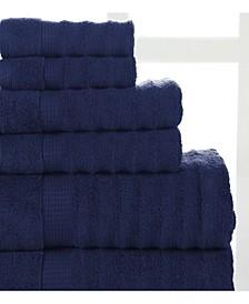 Ribbed Towel Set - 6 Piece
