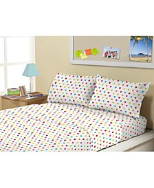 MHF Home Kids Queen of Hearts Full Sheet Set