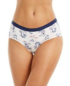 Women's Elastic Waist Hipster Underwear, Created for Macy's