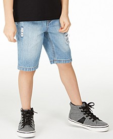 Toddler Boys Destroyed Denim Shorts, Created for Macy's