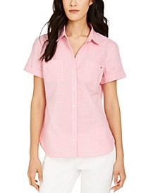 Gingham Camp Shirt