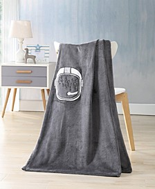 MHF Home Kids Astronaut Throw Blanket