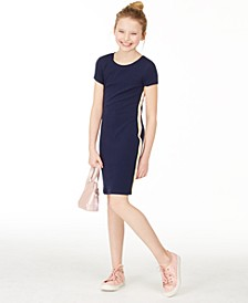 Big Girls Side-Tape Bodycon Dress, Created for Macy's