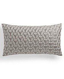 "Honeycomb Trellis 14"" x 26"" Decorative Pillow, Created for Macy's"