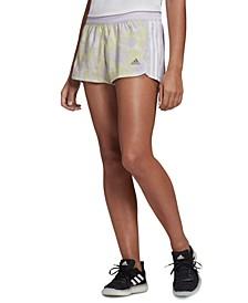 Women's Printed 3-Stripe Shorts