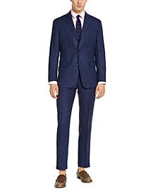 Men's Classic-Fit Linen Suit Separates