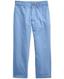 Toddler Boys Cotton Twill Chino
