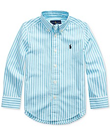 Toddler Boys Cotton Poplin Shirt