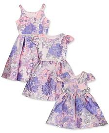 Baby, Toddler, Little & Big Girls Floral Burnout Dress