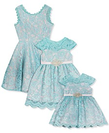 Baby, Toddler, Little & Big Girls Lace Dress