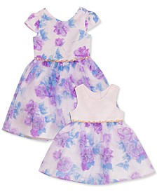 Baby, Toddler & Little Girls Floral Organza Dress
