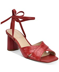 Aliva Ankle-Tie Sandals