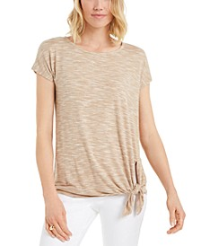 Petite Side-Tie Top, Created for Macy's