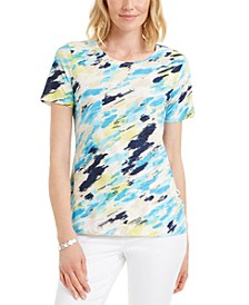 Printed Crewneck T-Shirt, Created for Macy's