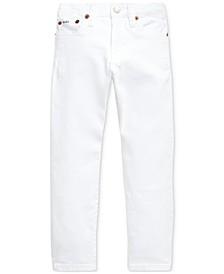 폴로 랄프로렌 남아용 데님진  Polo Ralph Lauren Toddler Boys Sullivan Slim Stretch Jeans,Commey White Stretch
