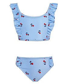 Girl Cherry Ithaca Print Two-Piece Swimsuit