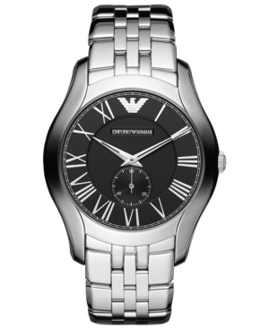 Emporio Armani Watch, Men's Stainless Steel Bracelet 43mm AR1706