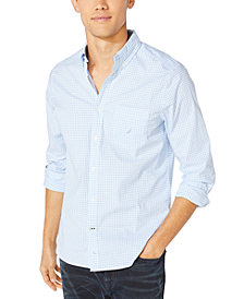 Nautica Men's Oxford Gingham Shirt