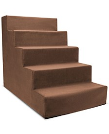 High Density Foam 5 Steps Pet Stairs