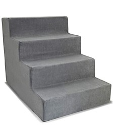 High Density Foam 4 Steps Pet Stairs