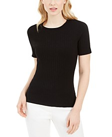 X-Fit Ribbed Knit Top