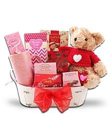 Cutest Valentines Ever Gift Basket
