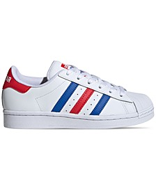 Big Boys Superstar Casual Sneakers from Finish Line